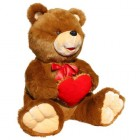 Bear Misha with Heart (L)C